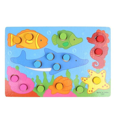 Toddler Puzzles Toys 3D Animals