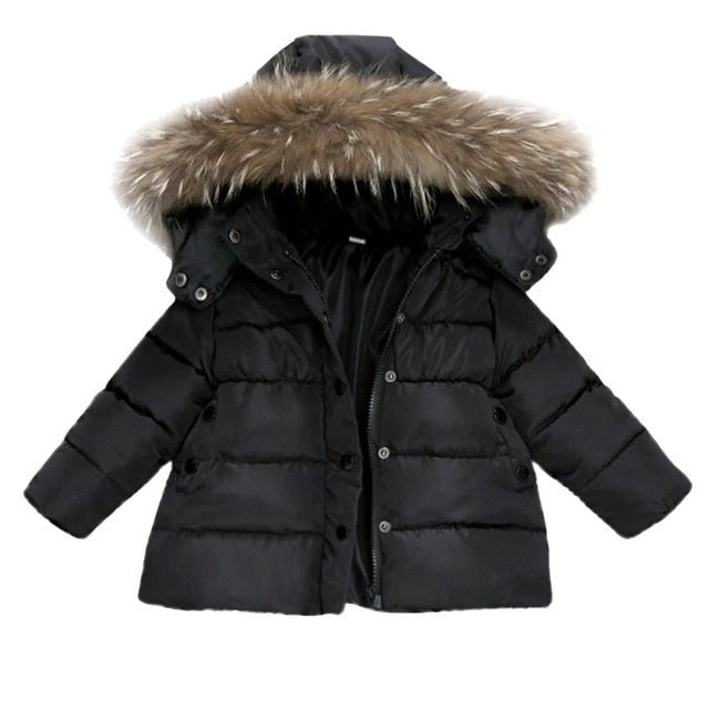 Winter Kids Warm Down Jackets