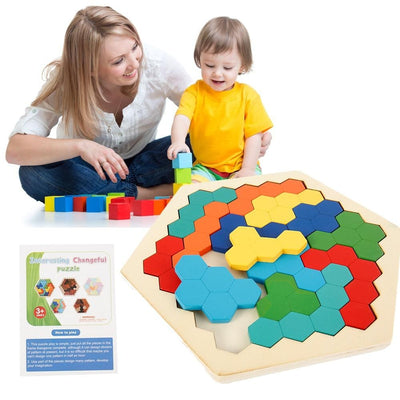 Honeycomb Jigsaw Puzzles