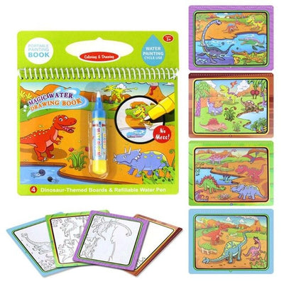 Cardboard Educational Painting Toy Magic Water Drawing Book