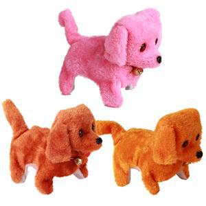 Electric Short Floss Dog Toys