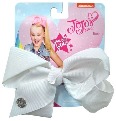 JoJo Siwa Dice Game with JoJo Siwa White Hair Bow - Multi Value Bundle