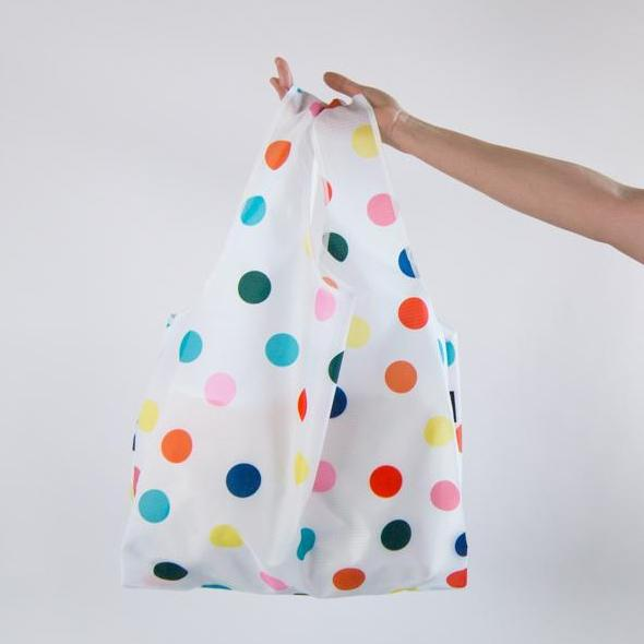 SaintX Shopper | Polka Party Canvas Tote Bag SAINTX STUDIO