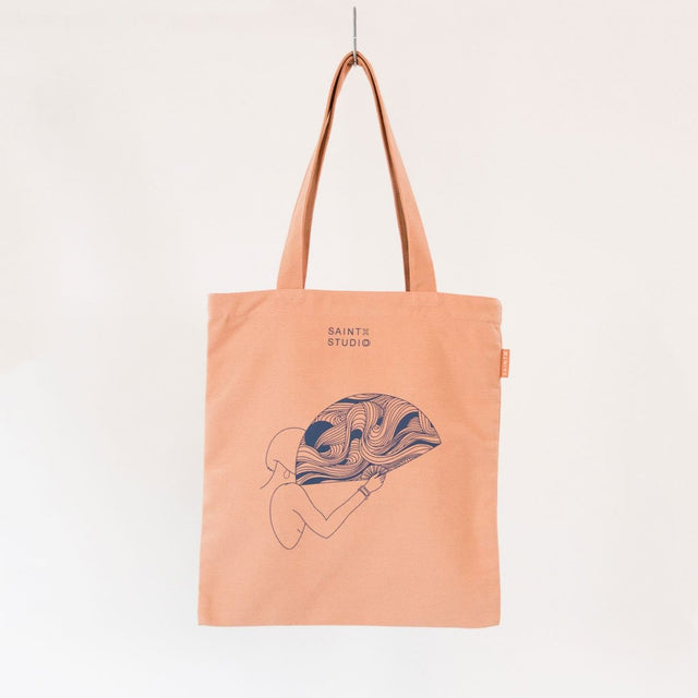 Carry Tote | Fangirl Canvas Tote Bag SAINTX STUDIO
