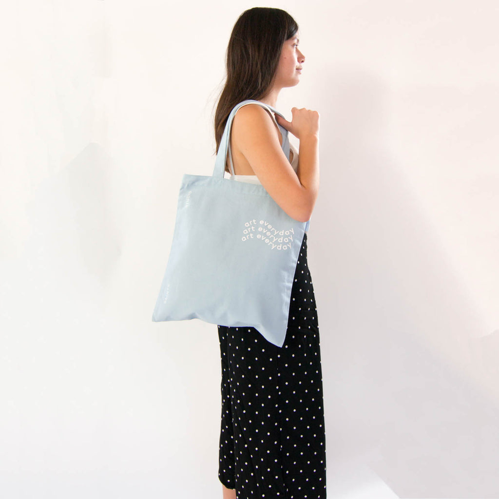 Carry Tote | Art Everyday Canvas Tote Bag SAINTX STUDIO