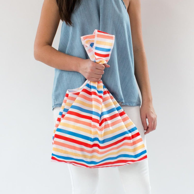 SaintX Shopper | Desert Rainbow Canvas Tote Bag SAINTX STUDIO