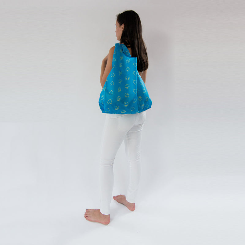 SaintX Shopper | Emoji Canvas Tote Bag SAINTX STUDIO