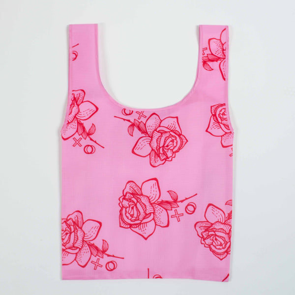 SaintX Shopper | Rose Pink Canvas Tote Bag SAINTX STUDIO