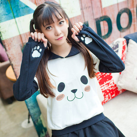 Ashley Panda Sweatshirt