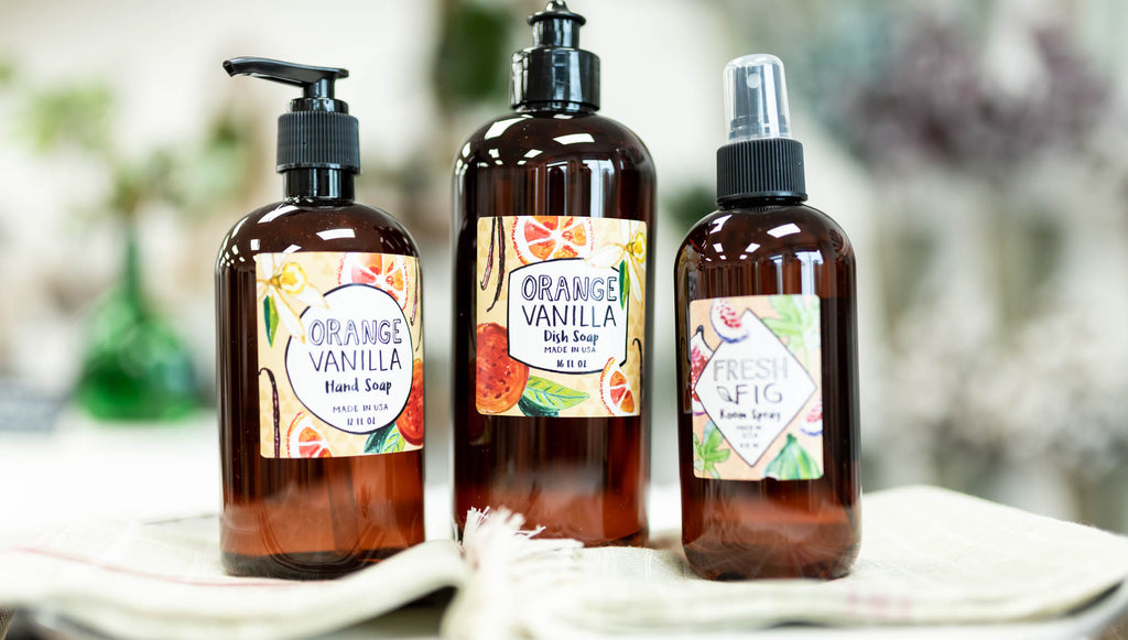 Soaps, Lotions, Room Sprays, Counter Sprays, Perfumes and More!