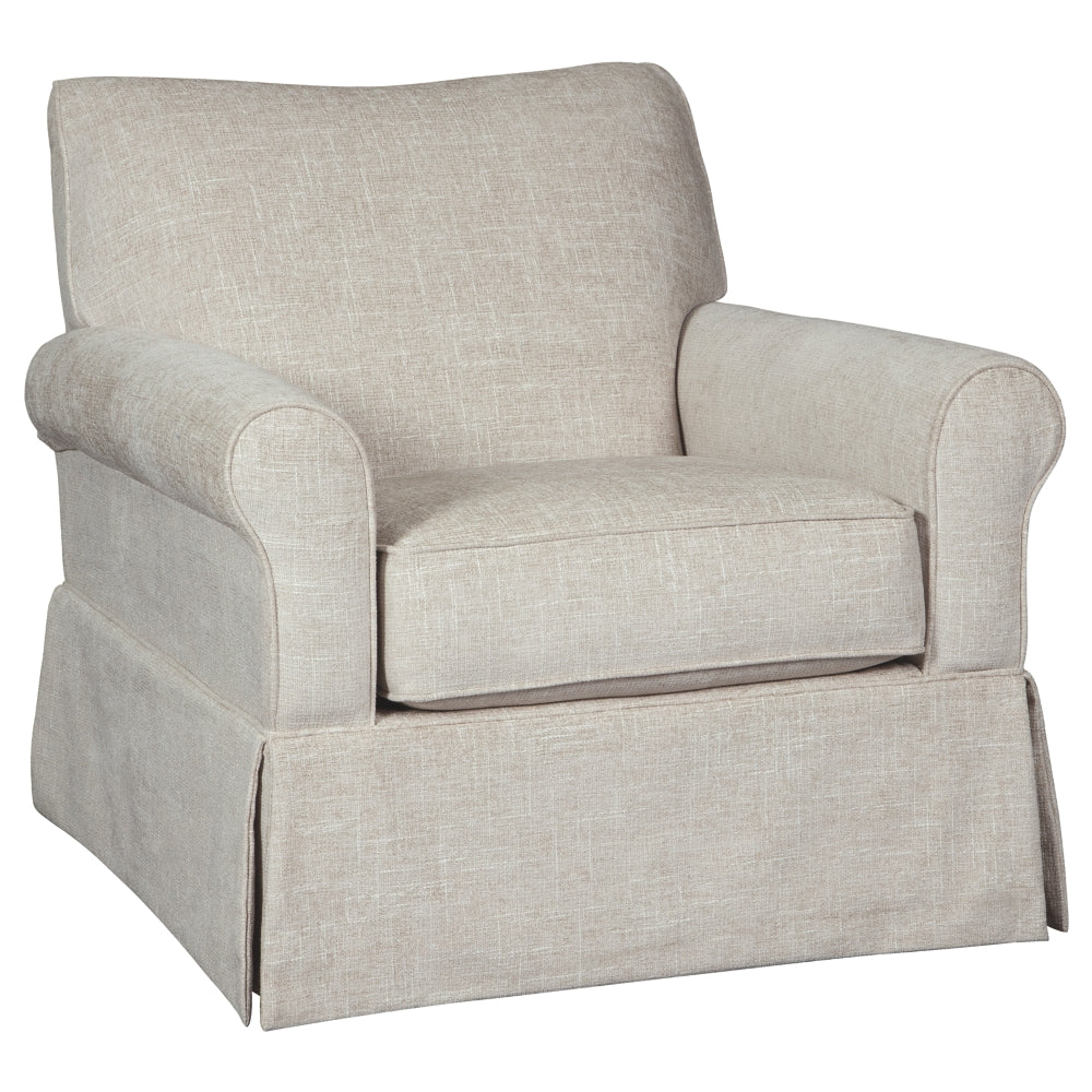 Sandra Swivel Accent Glider Chair