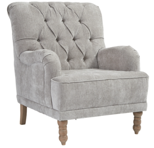 Dove Grey Accent Chair