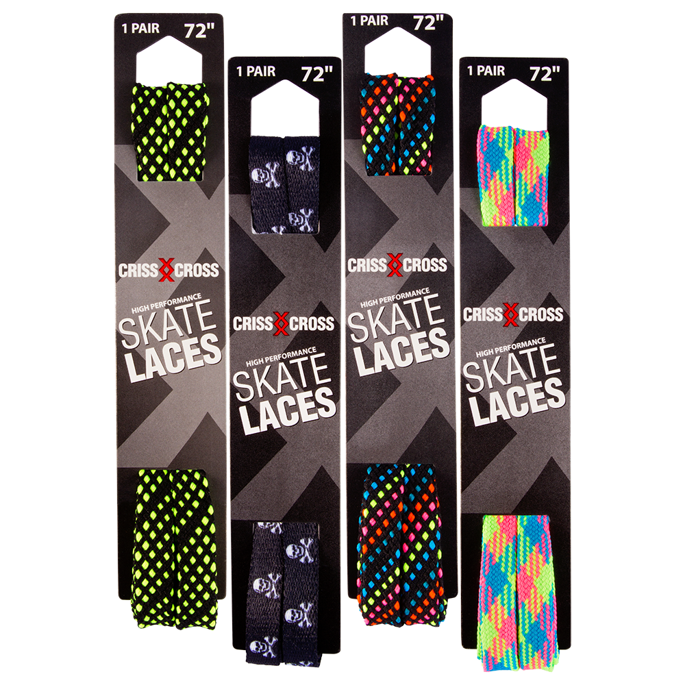 Riedell Criss Cross Laces 1/2""