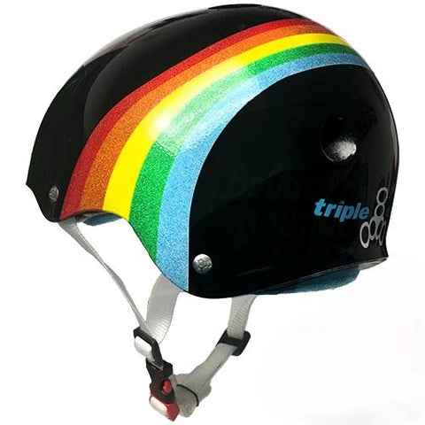 Black Rainbow Helmet