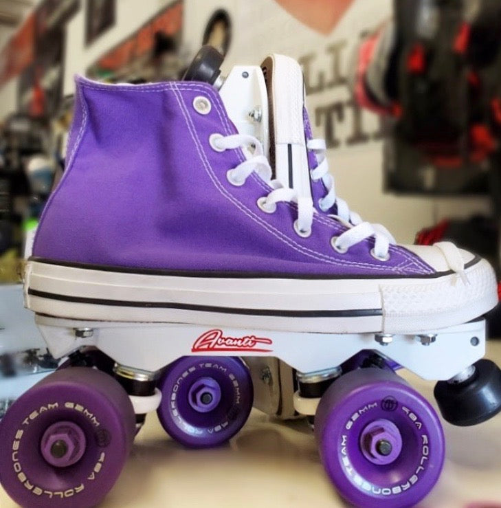 Custom Shoe Roller Skates Sin City Skates