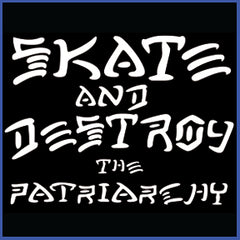 Skate & Destroy the Patriarchy Tanks