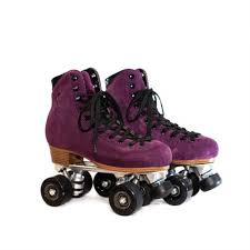 moonlight roller amethyst moon boot roller skate