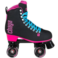 Chaya Melrose Black and Pink Roller Skate