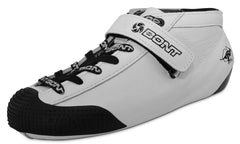 Bont hybrid leather all white skate boot