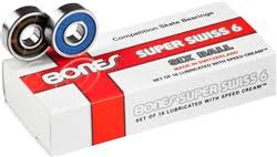Bones Super Swiss 6 Bearings