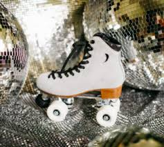 Moonlight Roller Mirror Ball Moon Boot Roller Skate