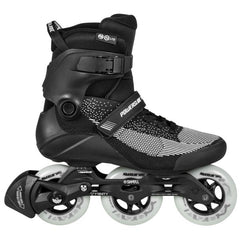 Powerslide Swell Lite Black 1OO Inline Skate side view
