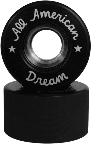 All American Dream Roller Skate wheel black