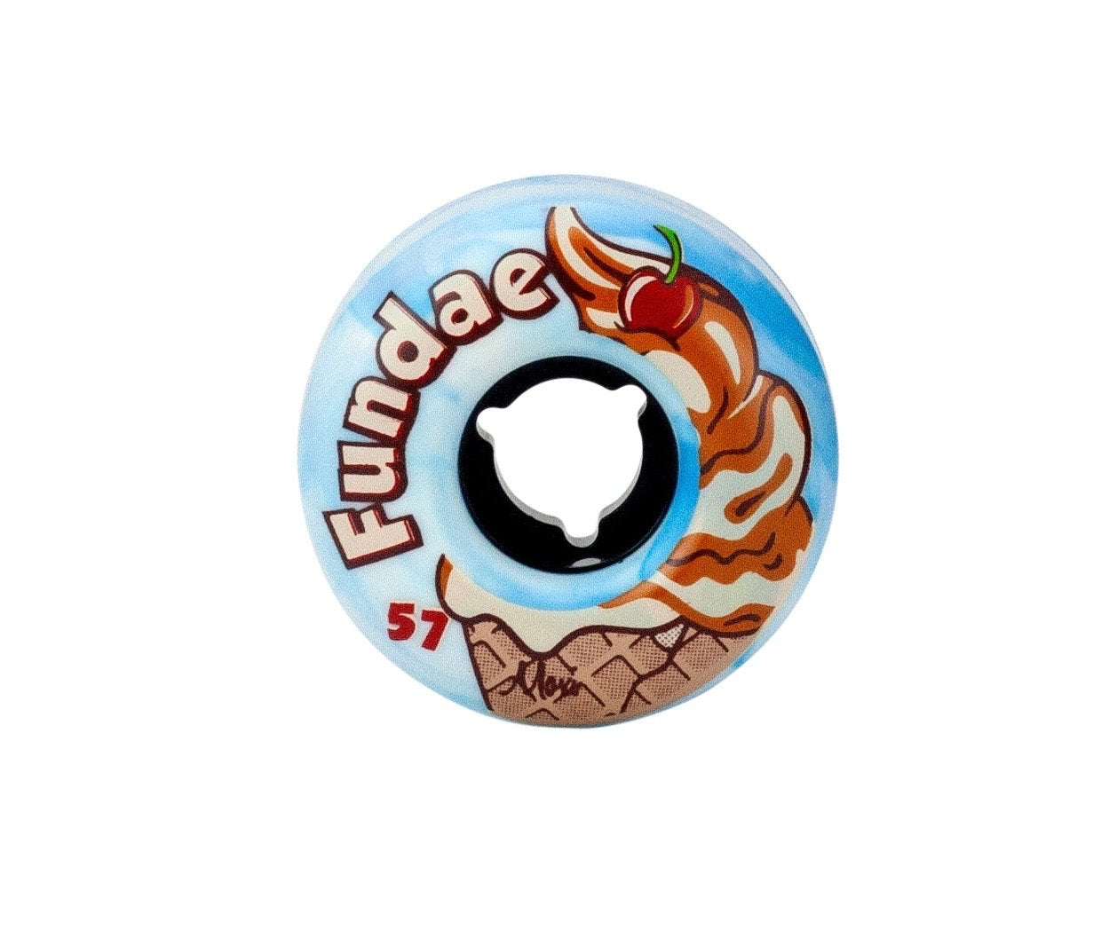 Moxi Fundae Birthday cake wheel
