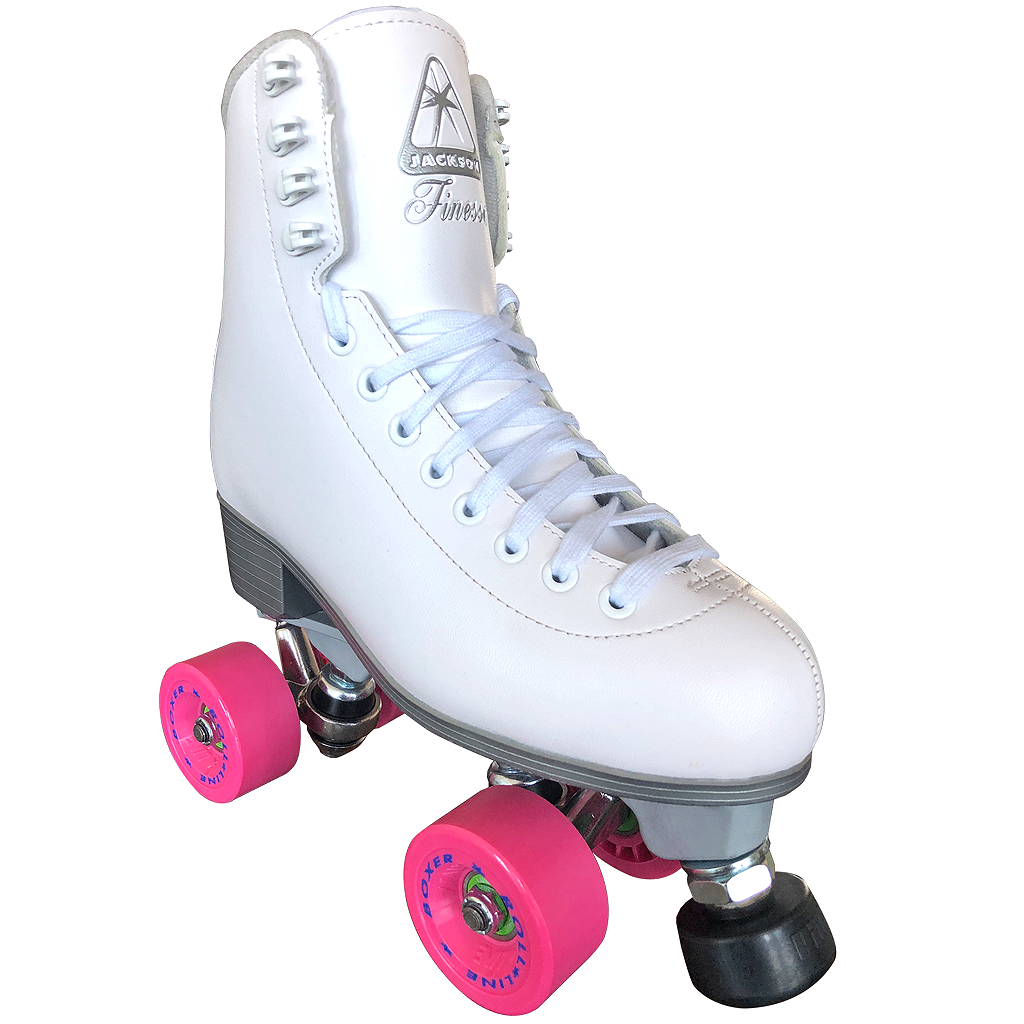 Jackson Finesse Skate in White outdoor package