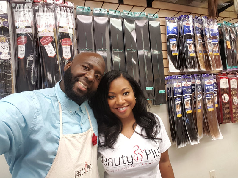 Couples Inc. : Beauty Supply Store Owners, Quintin & Megan Lathan