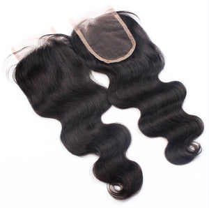 Virgin Brazilian Body Wave Closure
