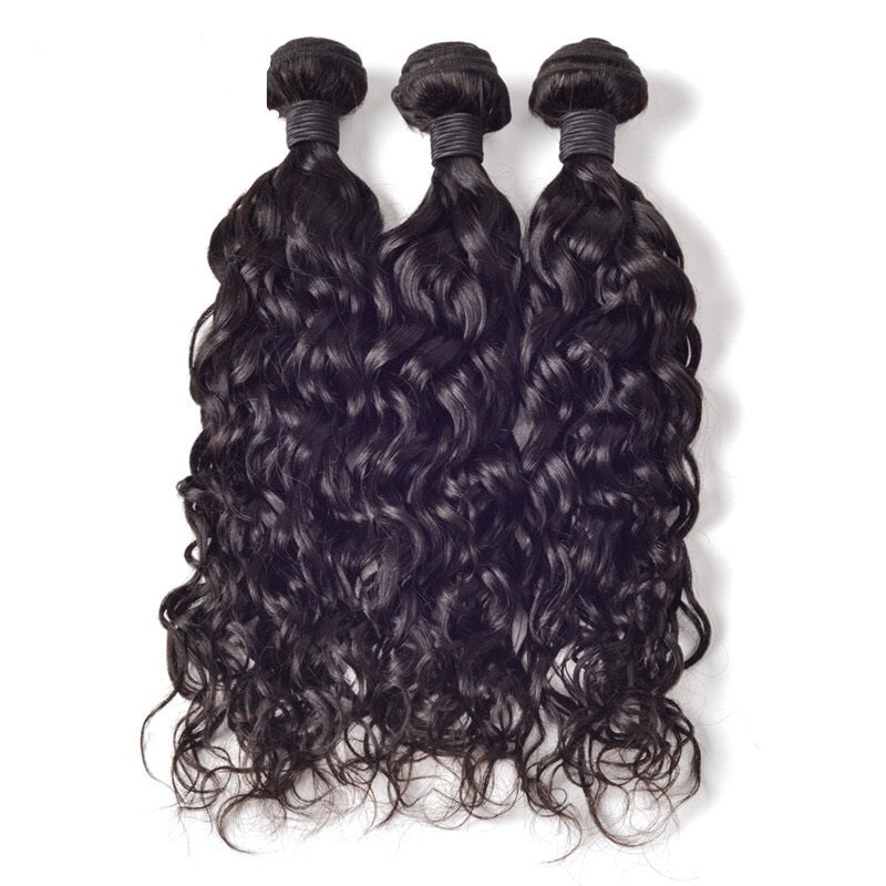 Virgin Brazilian Natural Wave Bundle