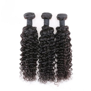Virgin Brazilian Deep Curl Bundle