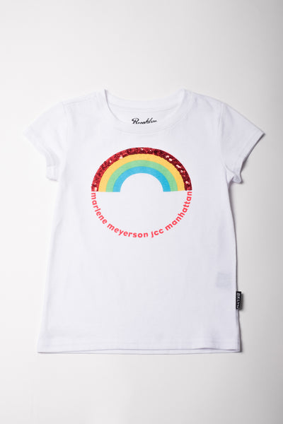 Short Sleeve Tee with Rainbow