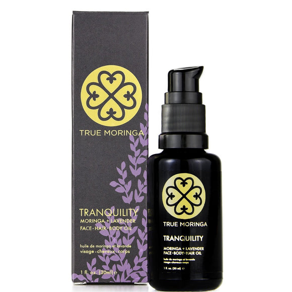 TRUE MORINGA LAVENDER FACIAL OIL (1OZ/30ML)