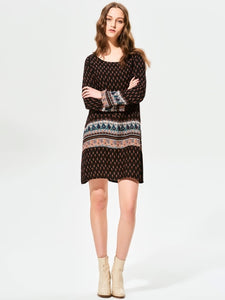 Boho dress patchwork