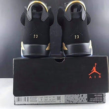 Nike Air Jordan 6 Black & Gold