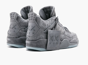 Nike Air Jordan 4 Retro Kaws Cool Grey (Exclusive)