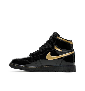 Air Jordan 1 Retro High OG GS 'Black Metallic Gold'