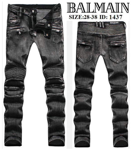 Balmain Men Black Jeans