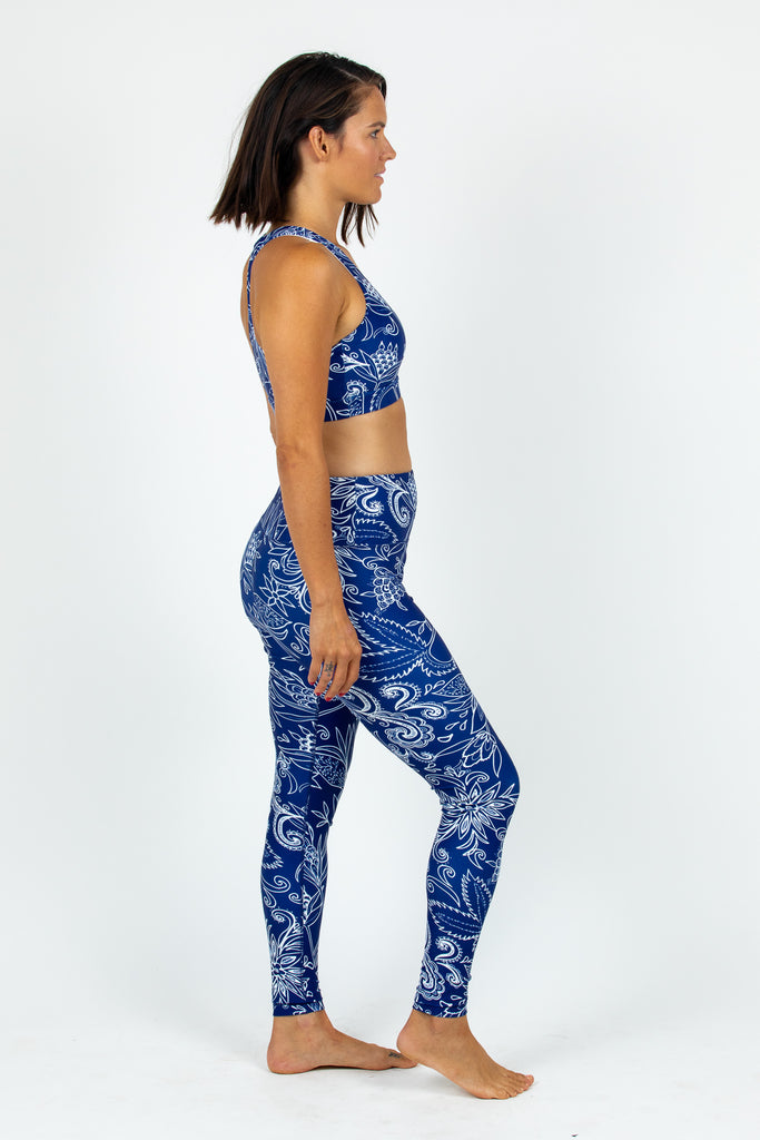 Midnight Oasis Full Length Leggings