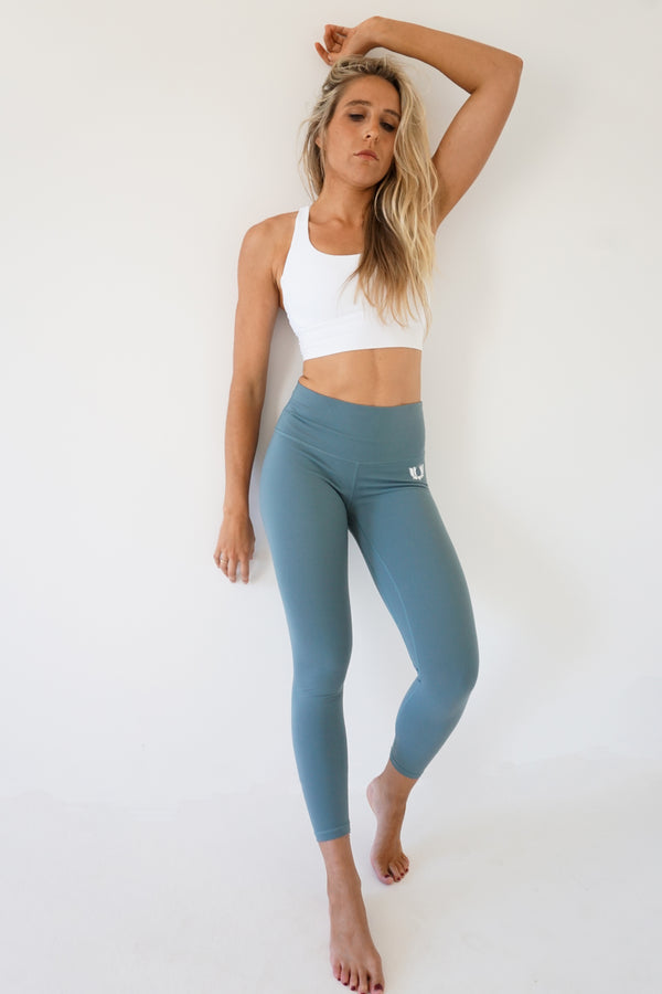 Covert Green Wunder Under 7/8 leggings