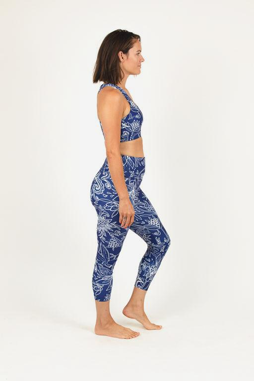 Midnight Oasis 7/8 leggings