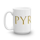 PYRAMII GOLD COFFEE CUP