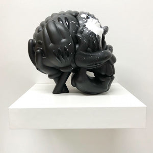 THE SLICK SKULL SCULPTURE: OJ EDITION (HAND EMBELLISHED)