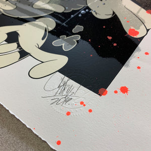 FIGHT CLUB PRINT: GOOD HELP EDITION (HAND EMBELLISHED)