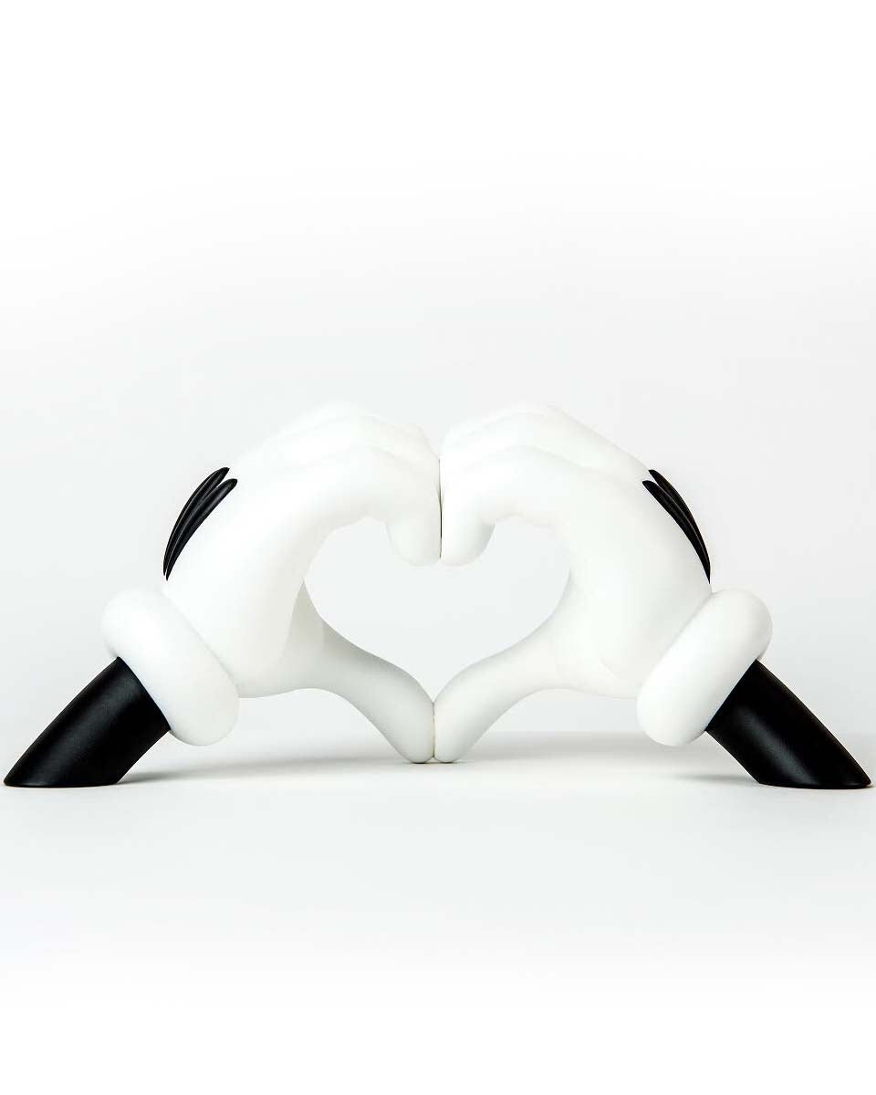 LOVE GLOVES SCULPTURE: 24 INCH OG EDITION