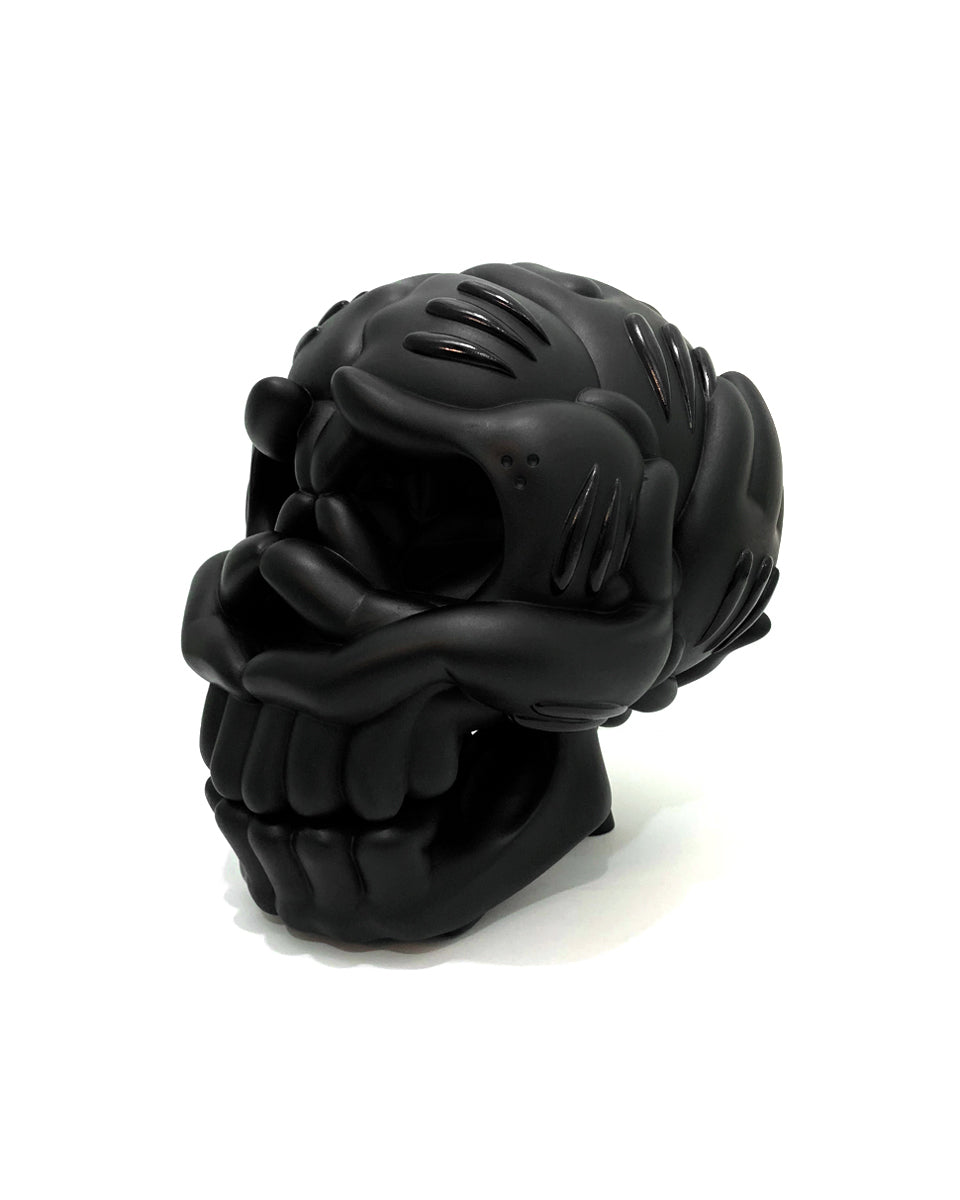 THE SLICK SKULL SCULPTURE: OJ EDITION