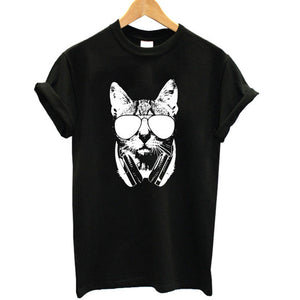 'Kitty Cat Beats; Tee