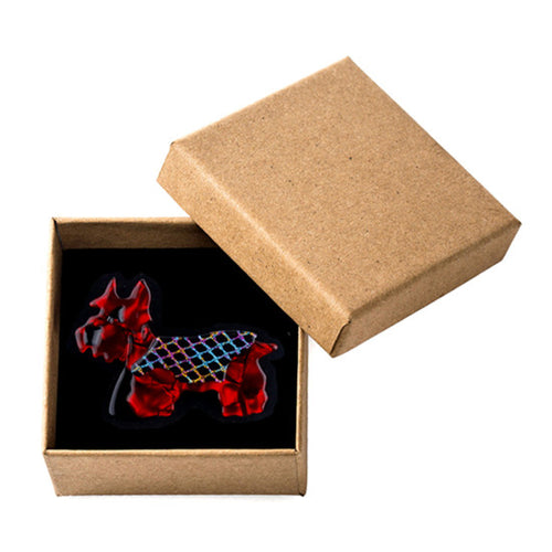 'Scotch n Dry' Scotty Dog Brooch